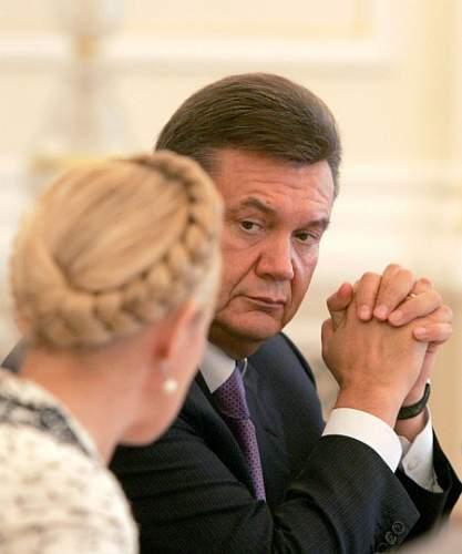 Янукович Тимошенко теледебати