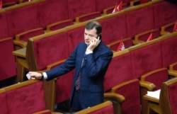 Попрацювавши півгодини, Рада прийняла заяву про євроінтеграцію і закрилася до 5 березня